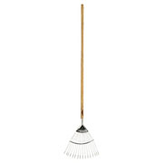 Moulton Mill Stainless Steel Lawn Rake