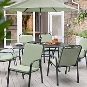 Kettler Siena 6 Seater Rectangular Set