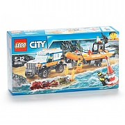 Lego City 4 x 4 with Powerboat