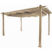 Hartman Napoli Pergola 3m x 3m Light Oak / Blonde