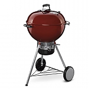 Weber Master-Touch GBS 57cm Charcoal BBQ Crimson Red