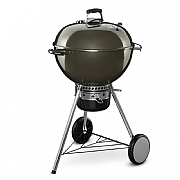 Weber MasterTouch 57cm GBS Charcoal Barbecue Smoke Grey