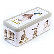 Wrendale Hare, Duck & Owl Cracker Tin