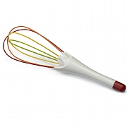 Joseph Joseph Twist 2 In 1 Silicone Whisk Multicolour