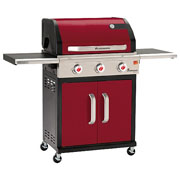 Landmann Triton 3 Burner Gas Barbecue Bordeaux