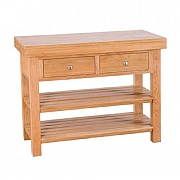Besp-Oak Evelyn Oak Rectangular Island