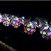 Smart Solar 10 Multi Glow Gem String Lights