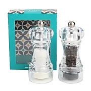 T&G Capstan Slimline Salt & Pepper Mill Set 10cm