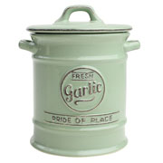 Pride of Place Old Green Garlic Jar