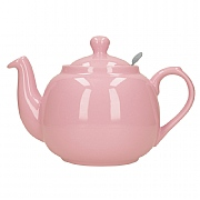 London Pottery Farmhouse 4 Cup Teapot - Pink