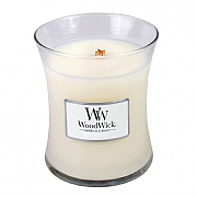 Woodwick Island Coconut Medium Candle