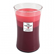 Woodwick Summer Fruits Trilogy Large Candle