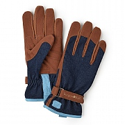 Burgon & Ball Love The Glove Gardening Gloves - Denim - Small/Medium