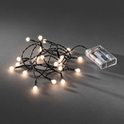 20 Warm White LED Cherry Light Set