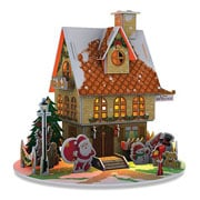 3D Puzzle Christmas House with LEDs