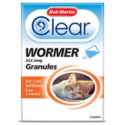 Bob Martin Wormer Granules for Cats