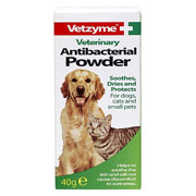 Vetzyme Antibacterial Powder 40g
