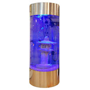 Stainless Steel Cylinder Aquarium 268 Litres