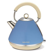 Morphy Richards Accent Pyramid Kettle Cornflower Blue