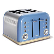 Morphy Richards Accent 4 Slice Toaster Cornflower Blue