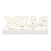 Wooden Lit Xmas Sign