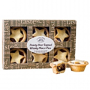 Cottage Delight Star Topped Whisky Mince Pies