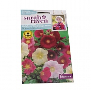 Mr Fothergills Sarah Raven Wildlife Collection Hollyhock Giant Single Mixed