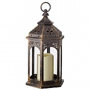 Moroccan Battery Powered Lantern