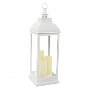 Giant Cream Battery Powered Lantern