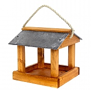 Tom Chambers Foss Slate Roof Hanging Bird Table