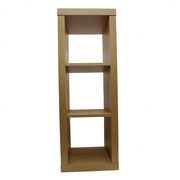 Aquarium Nano Stand Oak Effect With Shelves