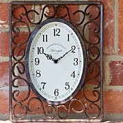Outside In Harrogate Wall Clock