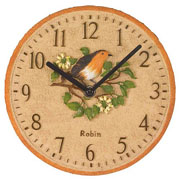 Robin Wall Clock 8""