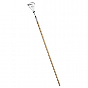 Burgon & Ball RHS Long Handled Shrub Rake