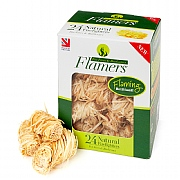 Certainly Wood Natural Flamers Firelighter 24 Pack