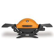 Weber Q1200 Gas Barbecue Orange