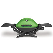 Weber Q1200 Gas Barbecue Green