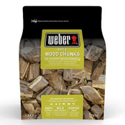 Weber Apple Wood Chunks 1.5kg