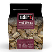 Weber Cherry Wood Chunks 1.5kg