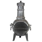Arriba Medium Chimenea Pewter