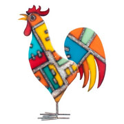 Noble Rooster Garden Ornament