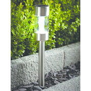 Solar Bubble Marker Light Stainless Steel