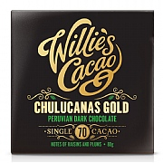 Willie's Cacao Chulucanas Gold Peruvian Dark Chocolate 80g