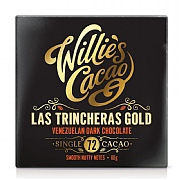 Willie's Cacao Las Trincheras Gold Venezuelan Dark Chocolate 80g