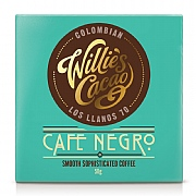 Willie's Cacao Café Negro Columbian Dark Chocolate 50g