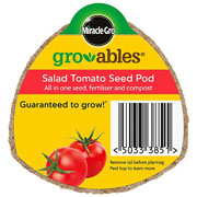 Miracle Gro Gro-ables Salad Tomato Seed Pod