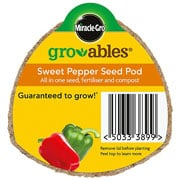 Miracle Gro Gro-ables Sweet Pepper Seed Pod