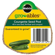 Miracle Gro Gro-ables Courgette Seed Pod