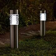 Smart Solar Stella Stainless Steel Bollard Light