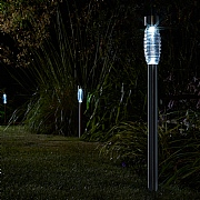 Smart Solar Beacon Stainless Steel Mast Light